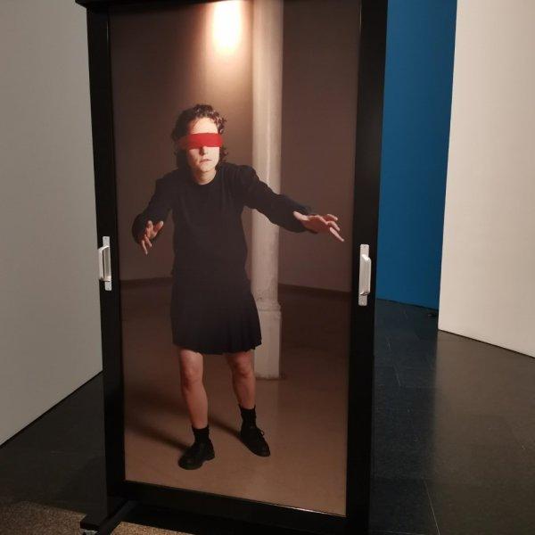 """press - Vistes de l'exposició """"Acció. Una història provisional dels 90"""""""