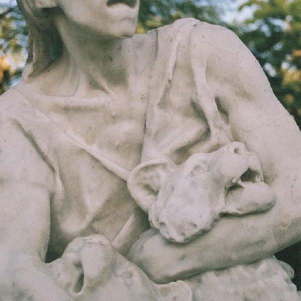 """Detall de l'escultura """"Caçador de lleons"""" d'Agapit Vallmitjana i Abarca (1893). Foto: Adrian Schindler."""