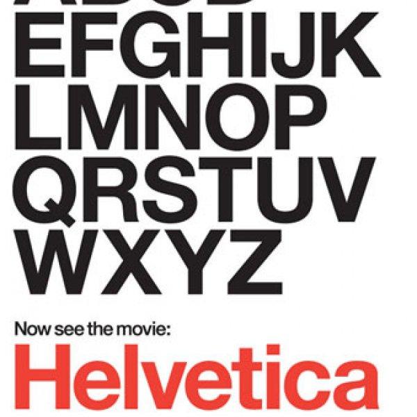 "Helvetica ""Cast"" poster, 2007"