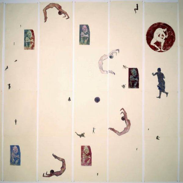 "Nancy Spero ""The Acrobat"", 1990"