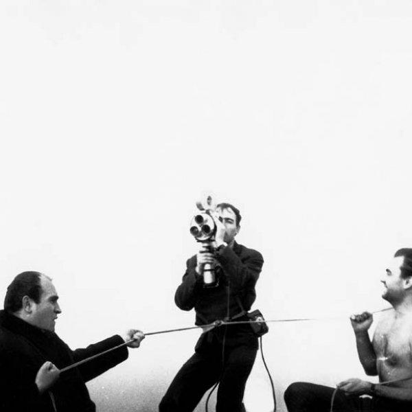 "Tomislav Gotovac, ""Circle (Jutkevich Count)"", 1964"