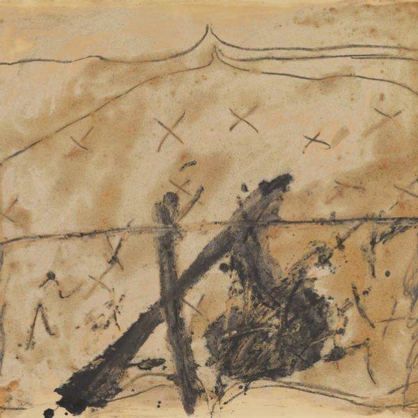 """Antoni Tàpies """"Signes"""", 1968"""