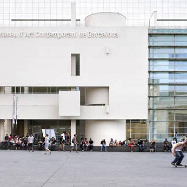 Museu d'Art Contemporani de Barcelona (MACBA) © Rafael Vargas, 2009