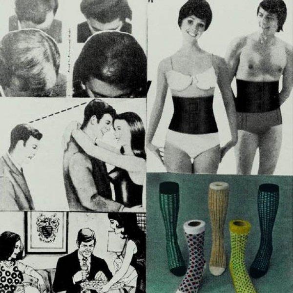 """Eulàlia Grau """"Caps, calces i mitjons"""", 1973"""