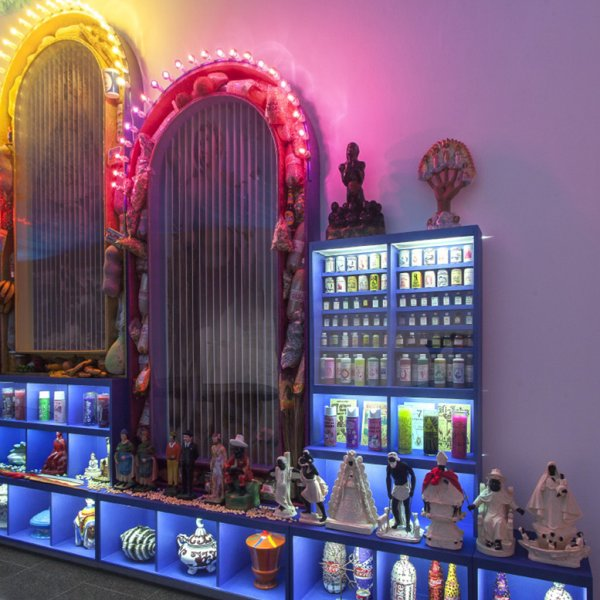 """Holy Food"" exhibition view, 2012-2013"