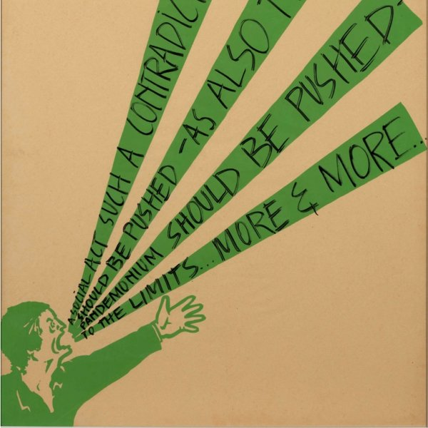 "Art & Language ""Shouting Men"", 1974. Col·lecció MACBA. Consorci MACBA. Dipòsit Philippe Méaille"