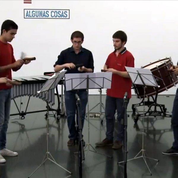 Concierto de percusión de la ESMUC, enero 2013