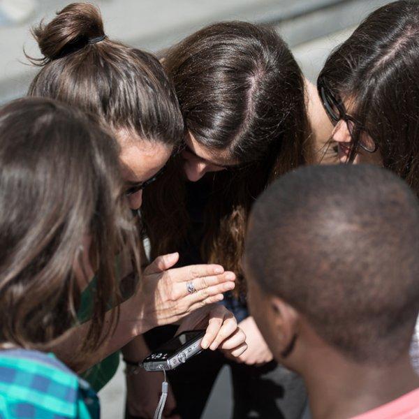 Students from 'IES Miquel Biada de Mataró, 2013. Photo: Miquel Coll
