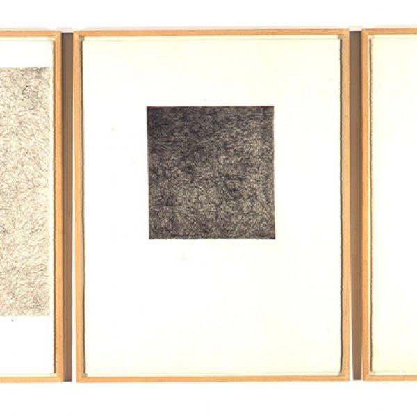 "Ignasi Aballí ""Tres bolígrafs"", 1990"