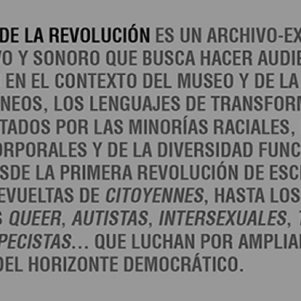 Oral museum of the revolution