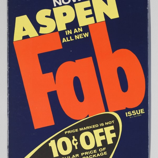 Foto ASPEN. The Multimedia Magazine in a Box. No 3. The Pop Art issue...