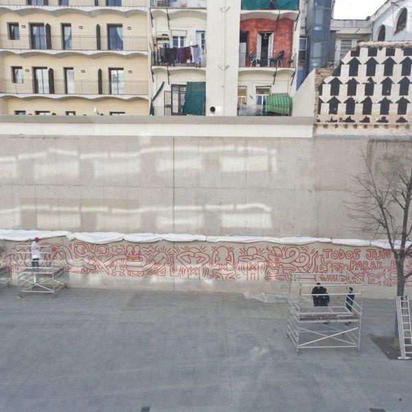 Keith Haring. La recuperación de un mural emblemático