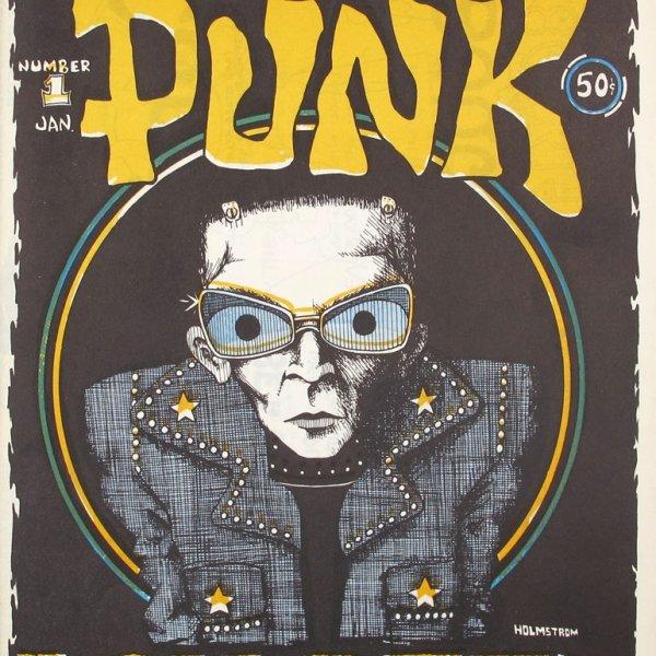 "John Holmstrom ""Punk"", 1976-1981"
