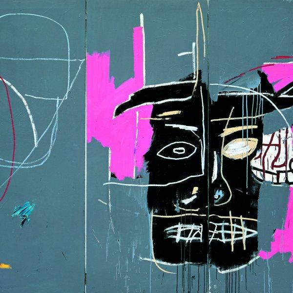 """Jean-Michel Basquiat """"Beast"""" [Bestia], 1983"""