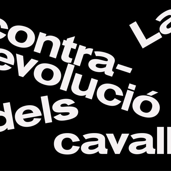 La contrarevolució dels cavalls. Diseño: Fernando Galende