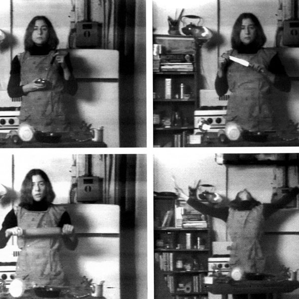 "Martha Rosler.""Semiotics of the kitchen"", 1975"