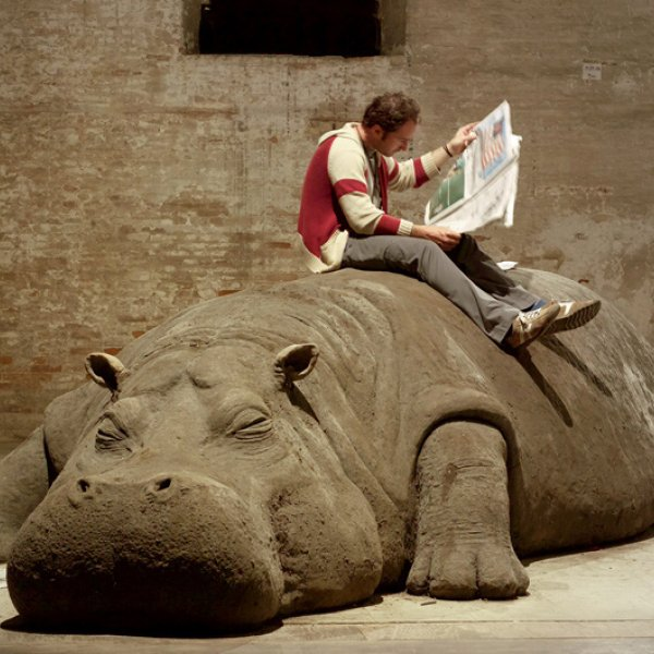 "Allora & Calzadilla ""Hope Hippo"", 2005"