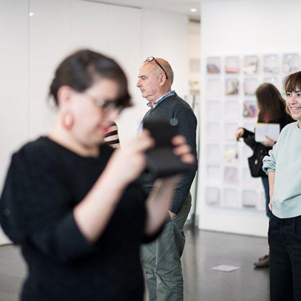 Acciones-Vídeo. Una aproximación audiovisual al arte contemporáneo. Foto: Miquel Coll.