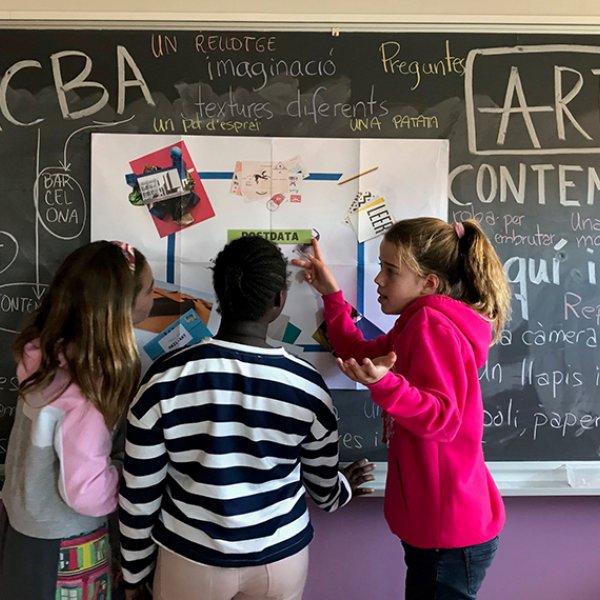 Foto: Susana Bacardi. Escola Montserrat Solà (5è primària)