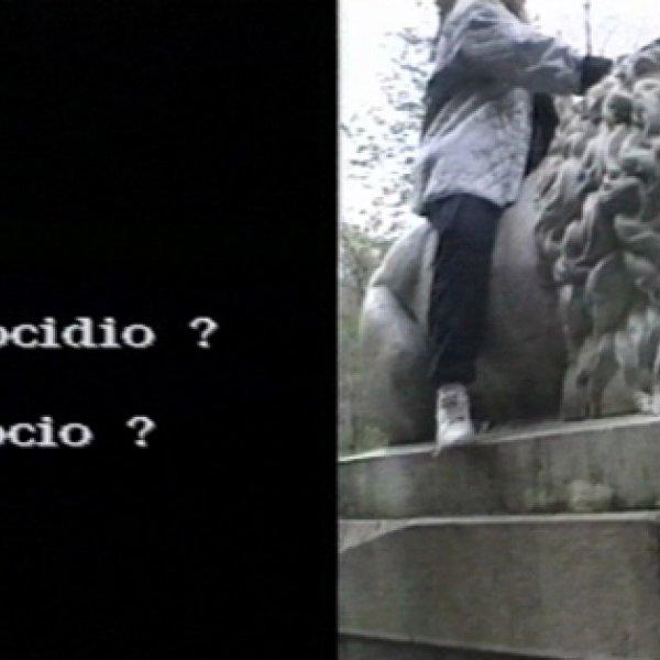 """The Carryng Society """"Sabes si… Prospecciones # 700-738"""", 1997, stills de vídeo, Cortesía de Arteleku – Diputación Foral de Gipuzkoa"""