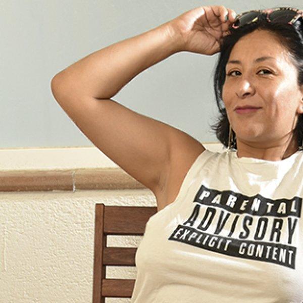 Retrato de Linda Pornsánchez a cargo de Carles Puig