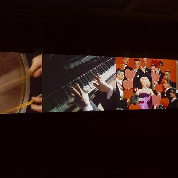 "Christian Marclay, ""Video Quartet"" (2002)"