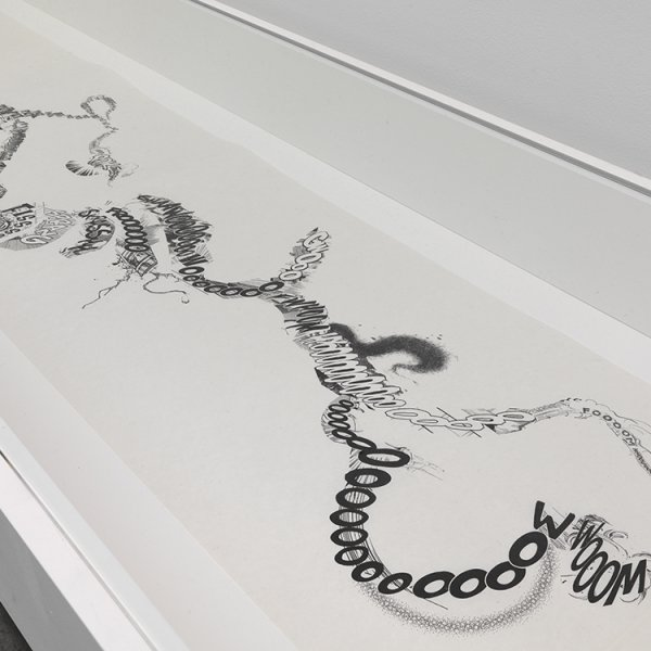 "Christian Marclay, ""Manga Scroll"" (2010)"