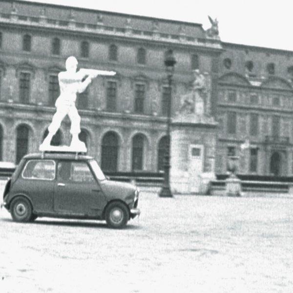 "Benet Rossell i Antoni Miralda, ""París la Cumparsita"", 1972"
