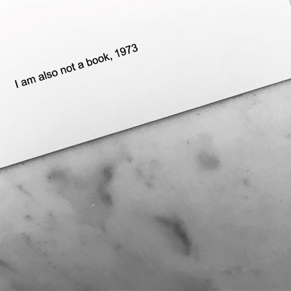 I am also not a book