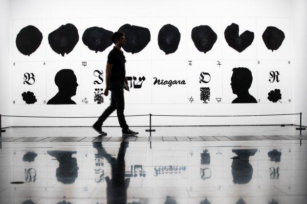 """Vistes de """"Un segle breu: Col·lecció MACBA"""". Foto: Dani Cantó"""