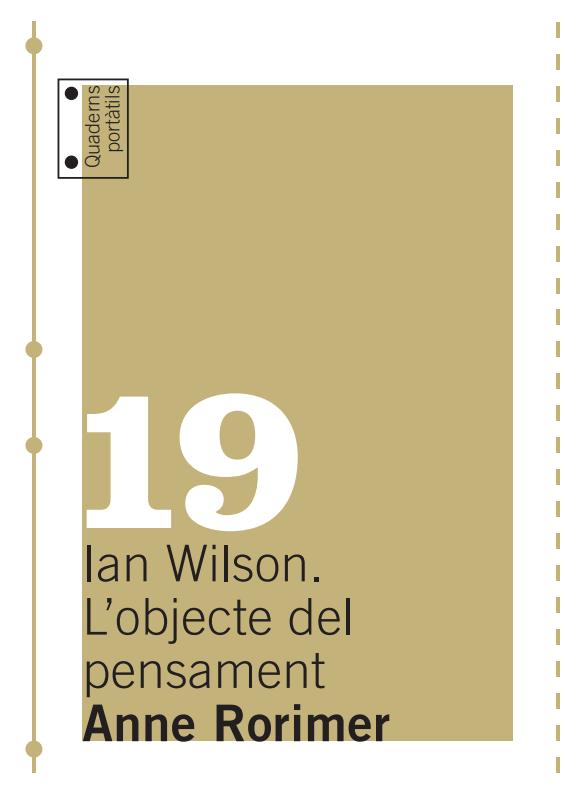 Ian Wilson. L'objecte del pensament