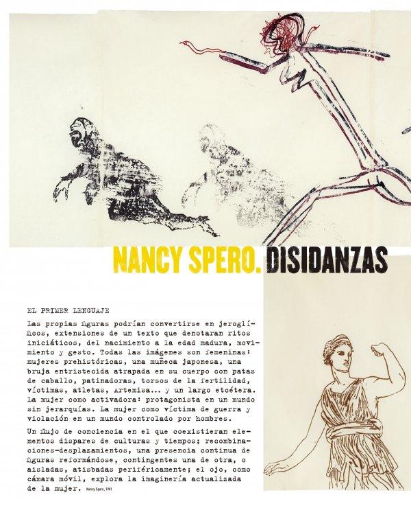 Nancy Spero. Disidanzas