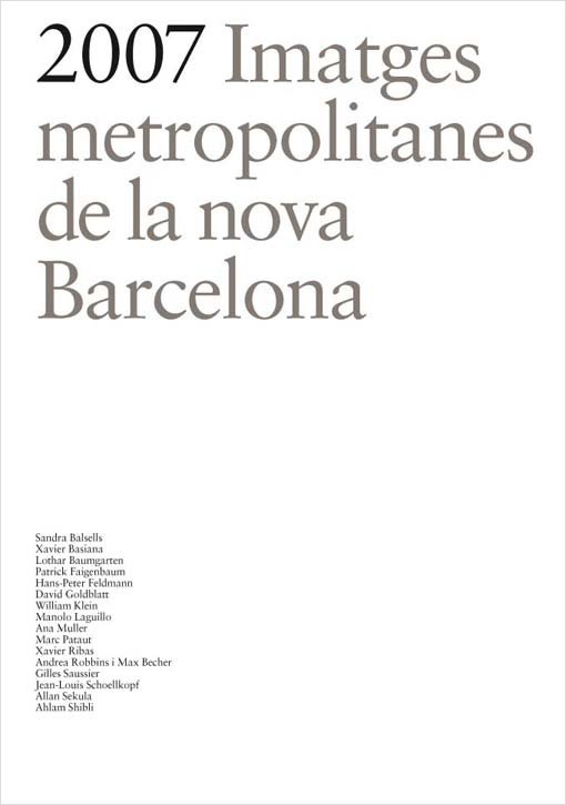 2007 Imatges metropolitanes de la nova Barcelona