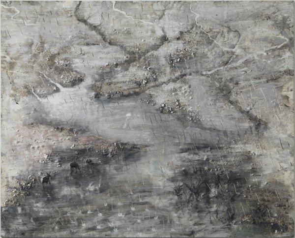 """Miquel Barceló """"Saison des pluies nº 2"""", 1990"""