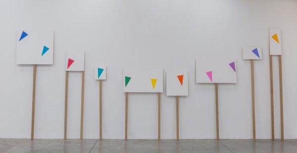 """Amalia Pica """"Procesión de Ocho"""", 2017"""