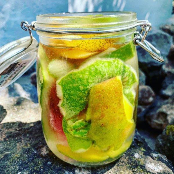 Aigua de fruites. La Cuina