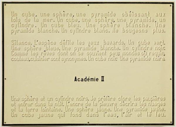 Académie II