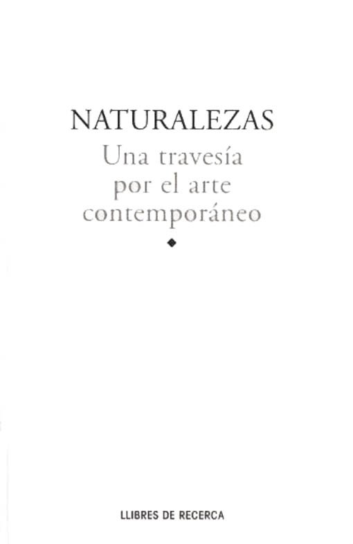 Natures. Una travessa per l'art contemporani