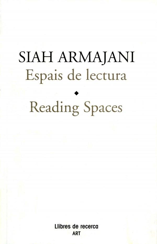 Siah Armajani. Espais de lectura