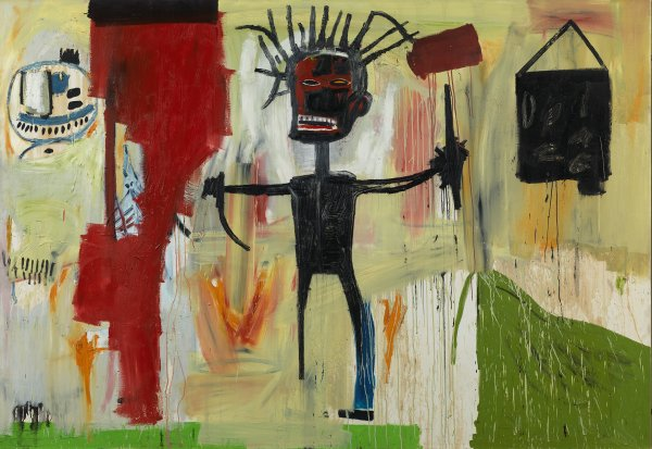 Jean-Michel Basquiat. 'Self Portrait' 1986