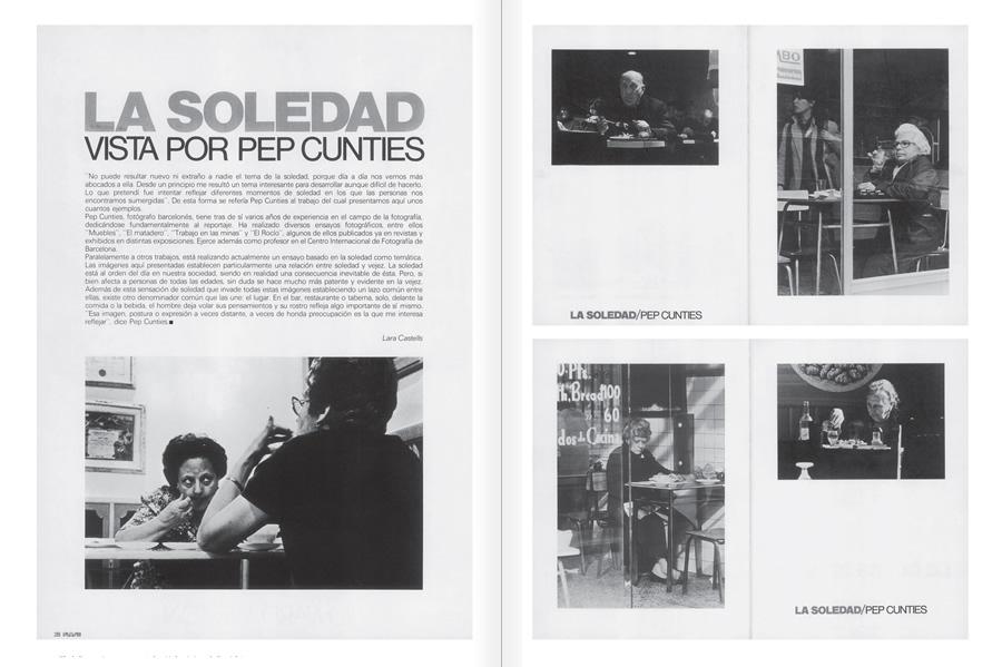 """Selecció del catàleg """"Centre Internacional de Fotografia Barcelona (1978-1983) """", pàgines 110 i 111"""