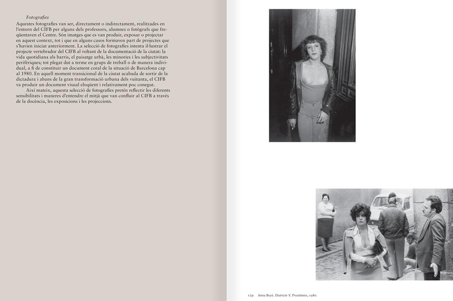 """Selecció del catàleg """"Centre Internacional de Fotografia Barcelona (1978-1983) """", pàgines 138 i 139"""