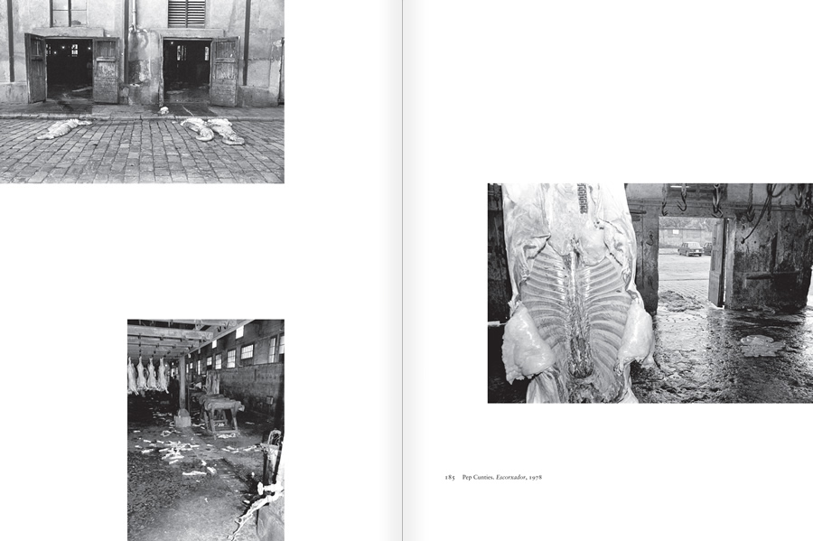 "Selection from the catalogue ""Centre Internacional de Fotografia Barcelona (1978-1983) "", pages 184 and 185"
