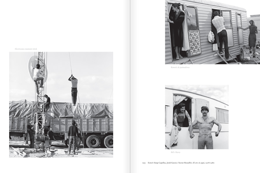 "Selection from the catalogue ""Centre Internacional de Fotografia Barcelona (1978-1983) "", pages 192 and 193"