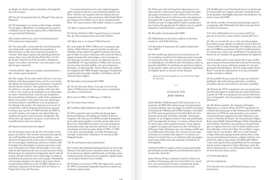 """Selecció del catàleg """"Centre Internacional de Fotografia Barcelona (1978-1983) """", pàgines 3246 i 3247"""
