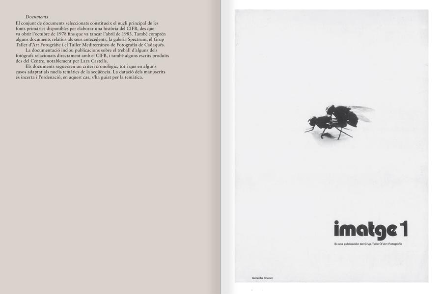 """Selecció del catàleg """"Centre Internacional de Fotografia Barcelona (1978-1983) """", pàgines 34 i 35"""