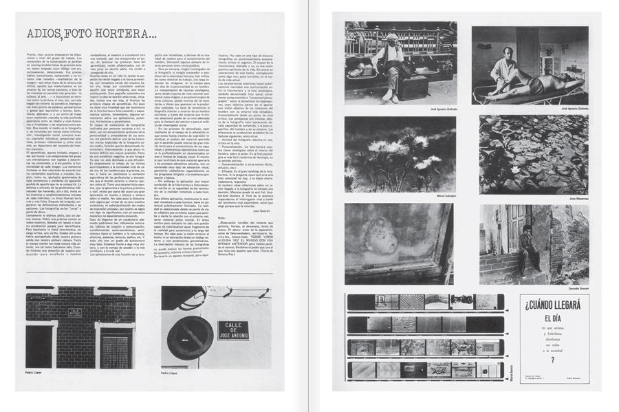 """Selecció del catàleg """"Centre Internacional de Fotografia Barcelona (1978-1983) """", pàgines 40 i 41"""