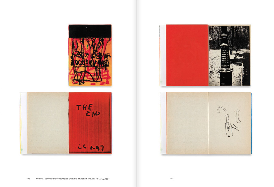 """Selection from the catalogue """"Luis Claramunt. El viatge vertical"""", pages 192 and 193"""