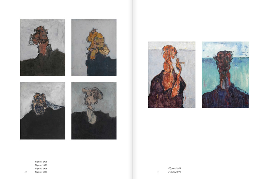 """Selection from the catalogue """"Luis Claramunt. El viatge vertical"""", pages 40 and 41"""