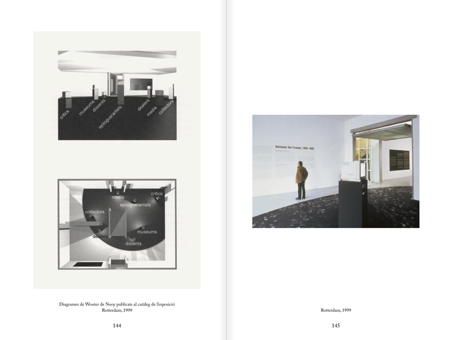 MUNTADAS. BETWEEN THE FRAMES: THE FORUM, pages 144 and 145